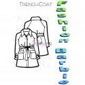 Molde de Trench Coat