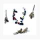 Colar, brincos e pulseira