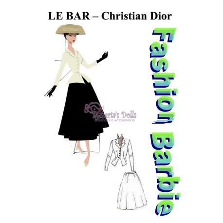 """Molde traje """"Le Bar"""""""