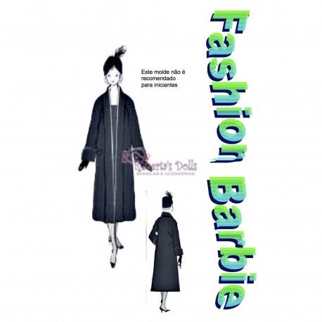 Molde de casaco vintage
